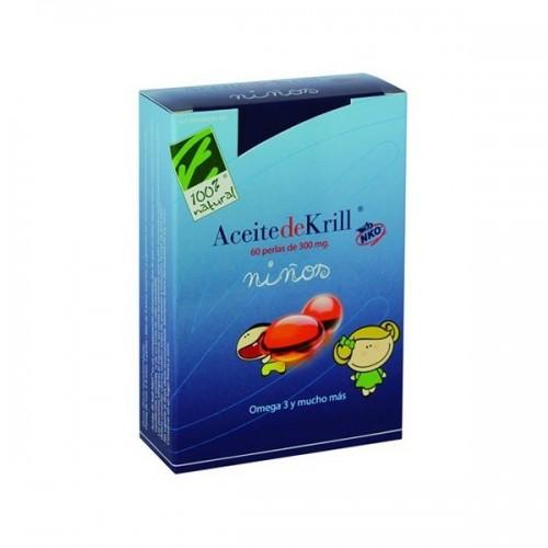 100% Natural Aceite De Krill NKO niños 60perlas