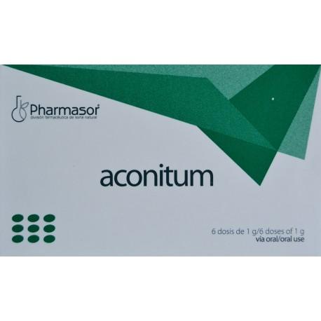 Aconitum Homeosor 6 Tubos Dosis