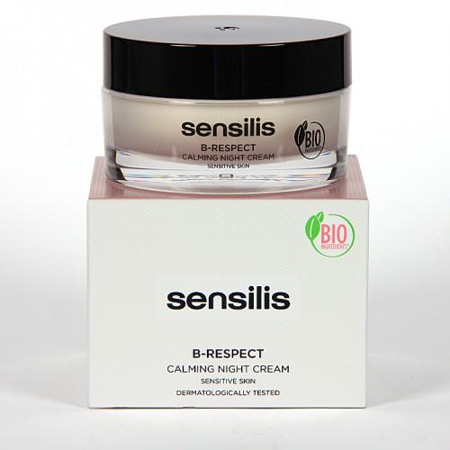 Sensilis B-Respect Crema Calmante De Noche 50 ml