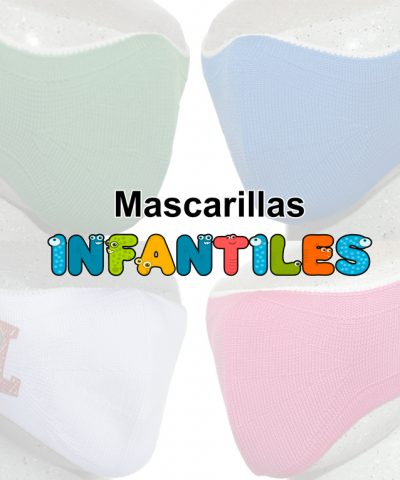Mascarilla Higienica Lavable infantil